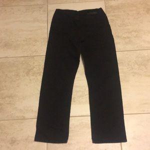NWOT Calvin Klein Black straight slim jeans Sz 18